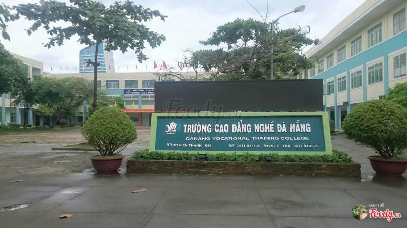 Khung cảnh tại trường Cao đẳng nghê Đà Nẵng.