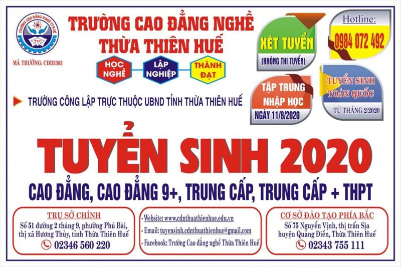 Trường Cao đẳng Nghề Thừa Thiên Huế