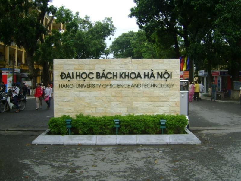 Trường đại học bách khoa Hà nội (nguồn internet)