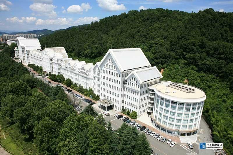 Khuôn viên Trường đại học Chosun Hàn Quốc