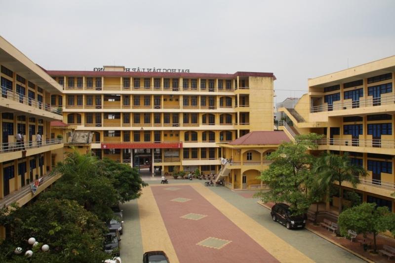 Trường đại hoc dân lập Hải Phòng