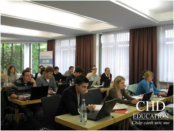 Sinh viên du học ngành Khoa học dinh dưỡng tại Trường Đại học Hohenheim