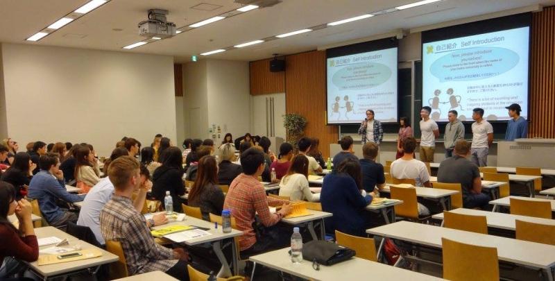Một giờ học tại Đại học Keio