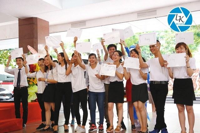 Sinh viên bộ môn du lịch trường Đại Học Khoa Học Xã Hội Và Nhân Văn TP.HCM