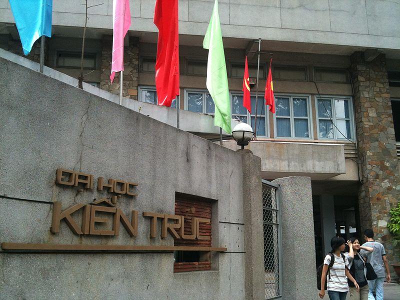 Trường đại học kiến trúc TPHCM