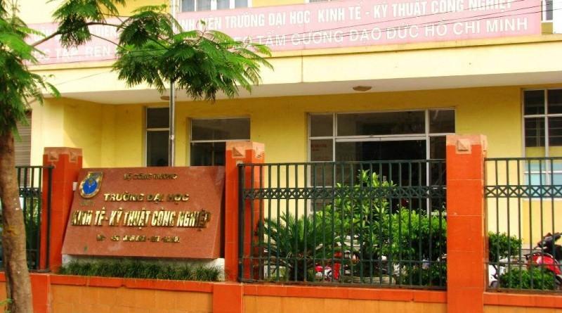Trường Đại học Kinh tế - Kỹ thuật Công nghiệp (nguồn internet)