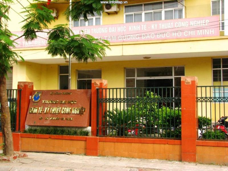Trường Đại học Kinh tế -Kĩ thuật công nghiệp ( nguồn internet)