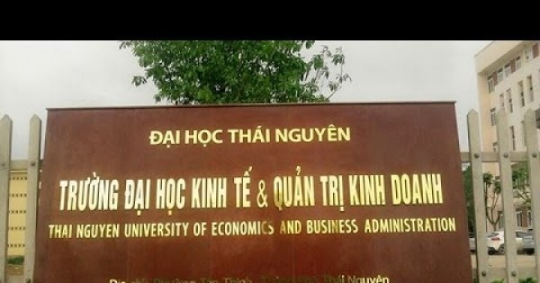 Trường Đại học Kinh tế và quản trị kinh doanh Thái Nguyên