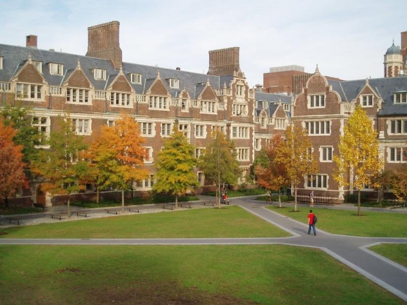 Vẻ cổ kính của Đại học William & Mary