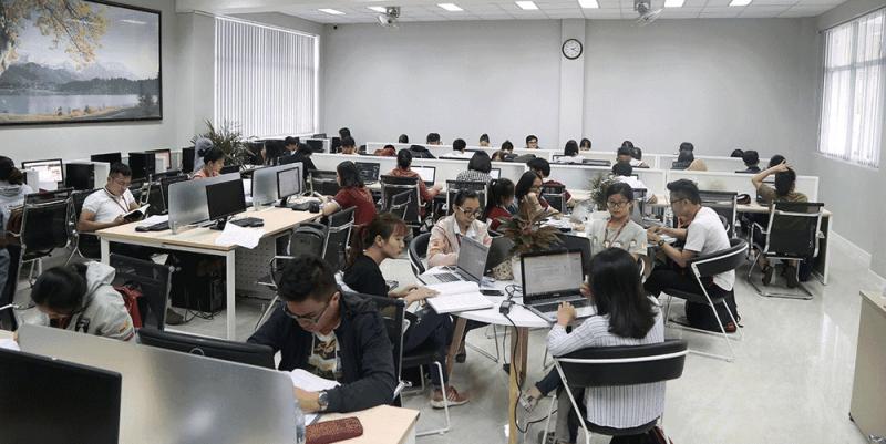 Thư viện Trường Đại học Ngoại Thương cơ sở 2