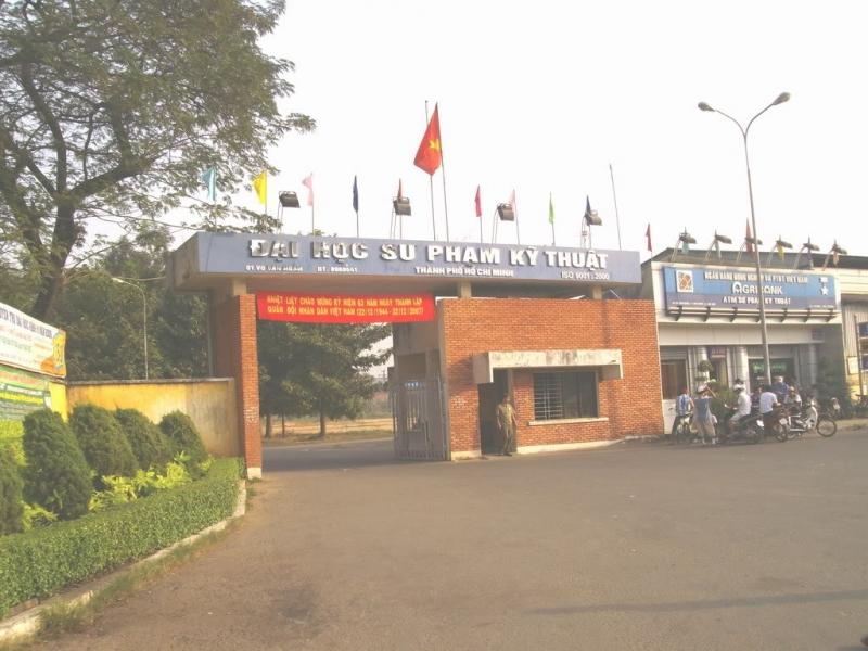 Trường đại học sư phạm kỹ thuật TPHCM