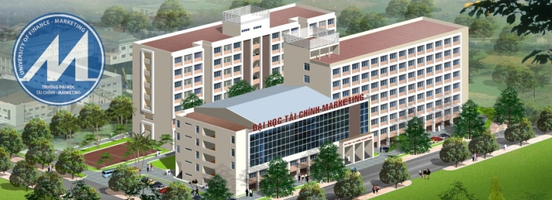 Khuôn viên Trường Đại học Tài chính - Marketing
