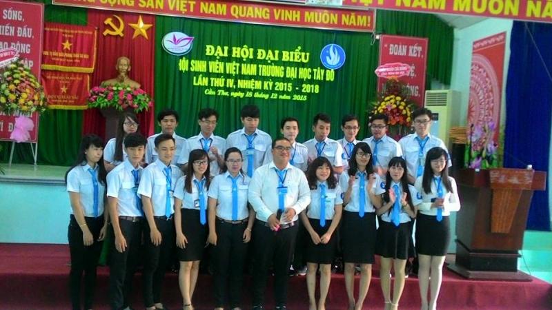 Đại hội đại biểu hội sinh viên Việt Nam trường Đại học Tây Đô nhiệm kỳ 2015 - 2018