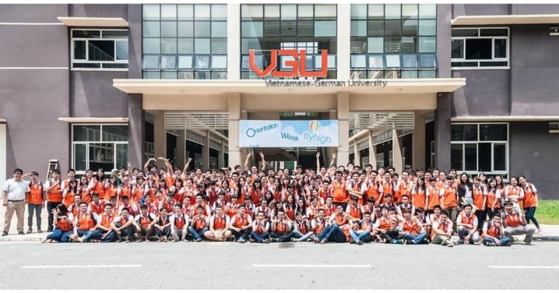 Sinh viên trường đại học Việt Đức