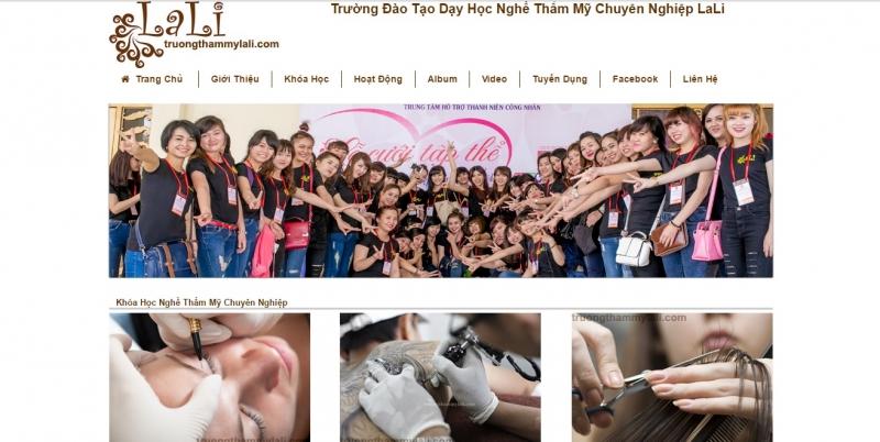 Trường đào tạo dạy học nghề thẩm mỹ chuyên nghiệp Lali