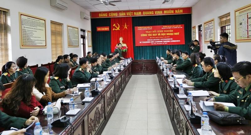 Trường đào tạo nghệ thuật của Quân đội trực thuộc Tổng Cục Chính trị-Bộ quốc phòng Việt Nam