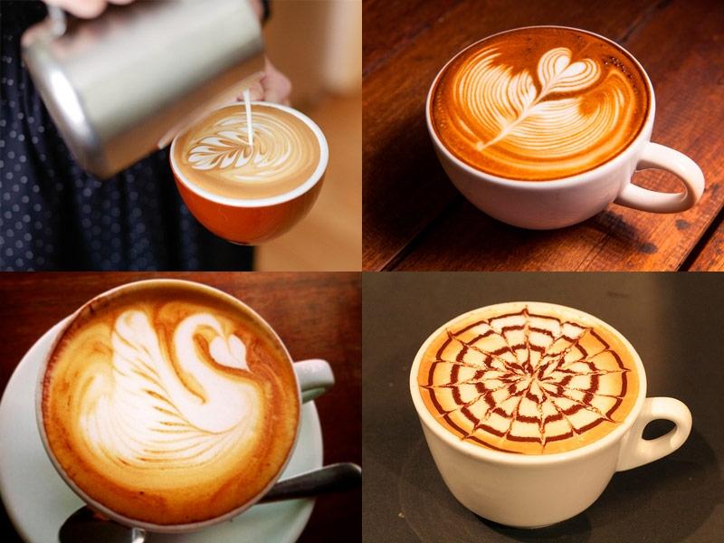 Kỹ năng tạo hình cà phê Ý