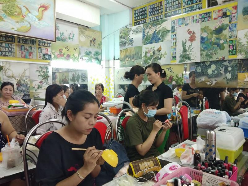 Trường dạy nghề Diệu Phi Artist Nail - Spa - Hair