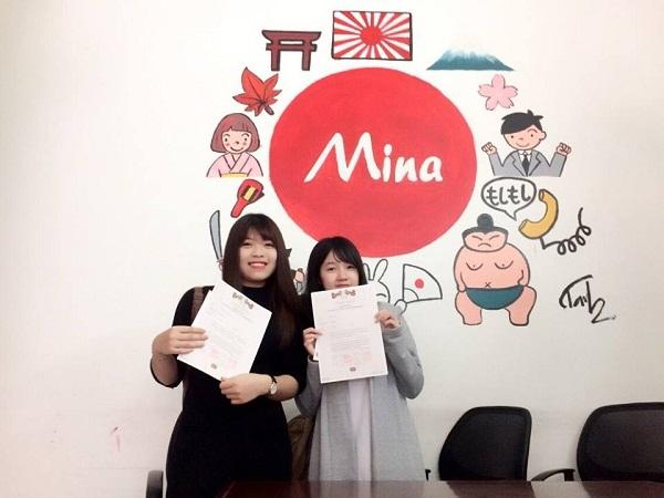 Trường dạy tiếng Nhật Mina