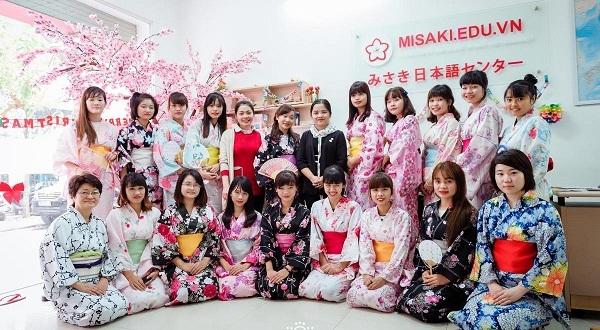 Trường dạy tiếng Nhật Misaki