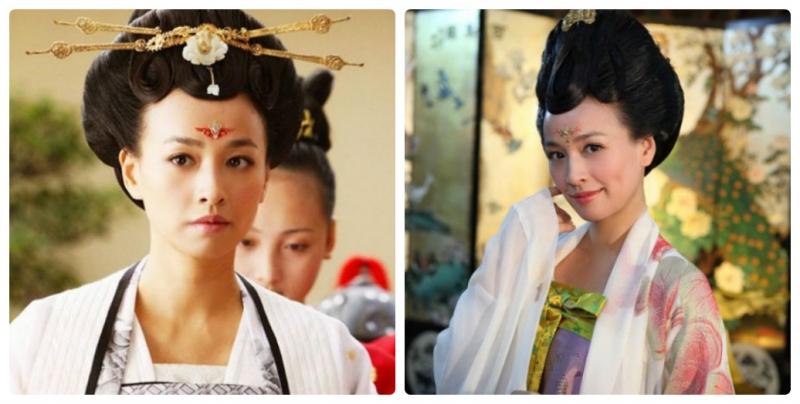 So với những nữ diễn viên trẻ đẹp khác thì Trương Đình vẫn nổi bật với vẻ đẹp mặn mà