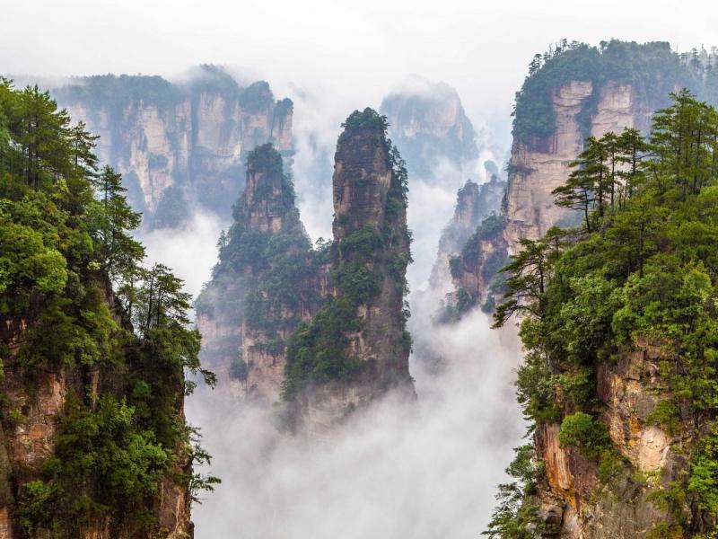 Top 9 Địa điểm thiên đường lãng mạn nhất Trung Quốc