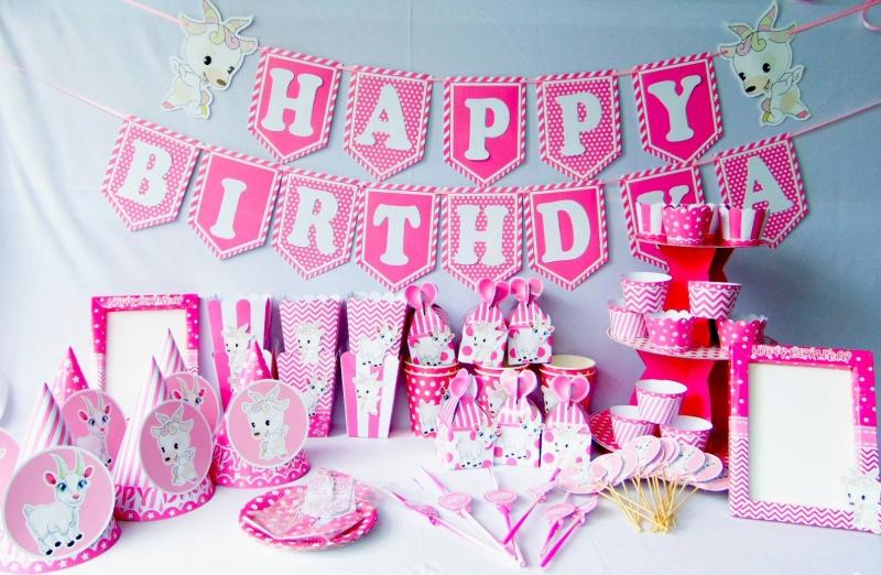 Phụ kiện sinh nhật có sẵn