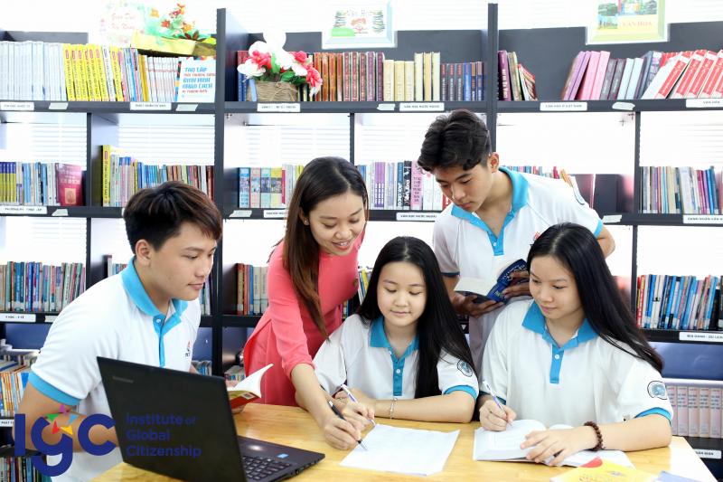 Tại IGC Tây Ninh, học sinh tự hào có tư duy rộng mở, kiến thức và kỹ năng vững vàng, thái độ chuẩn mực