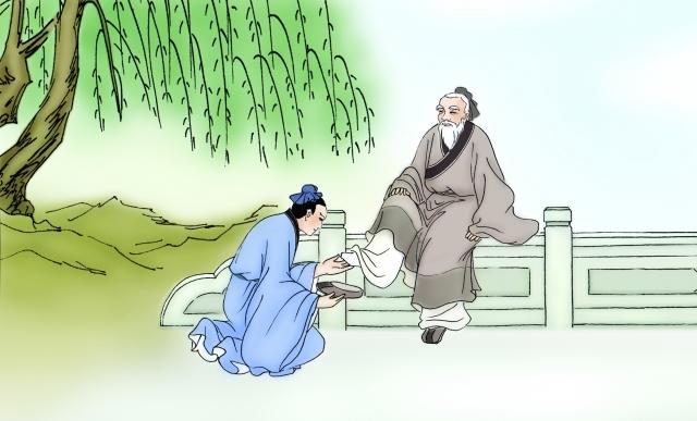 Chuyện Trương Lương nhặt giày đắc đạo