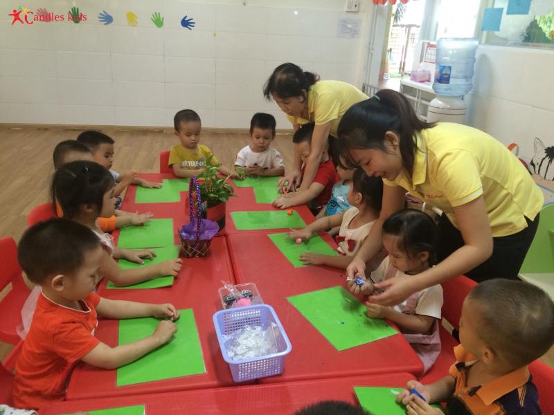 Trường mầm non 3 ngọn nến - Gò Vấp - Candles Kids