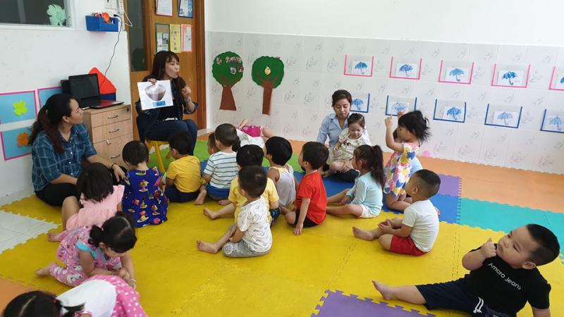 Trường Mầm non Anh - Hoa Sài Gòn - Nguyễn Trãi