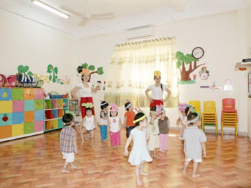 Trẻ có không gian để vui chơi thoải mái