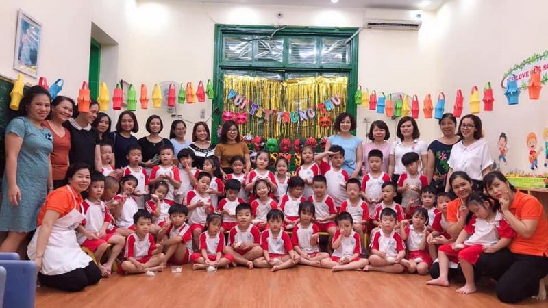 Tết Trung Thu 2019 của các bạn nhỏ trường mầm non B Hà Nội