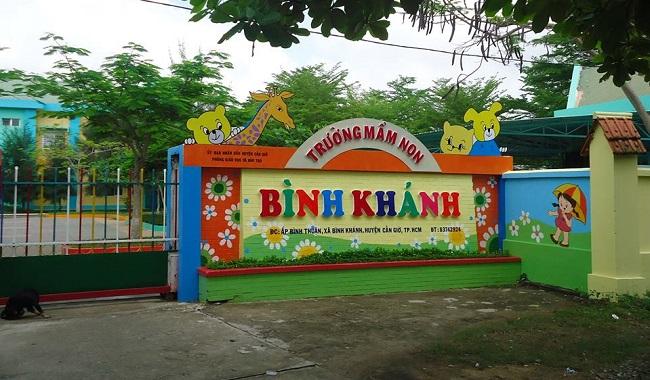 Trường mầm non Bình Khánh