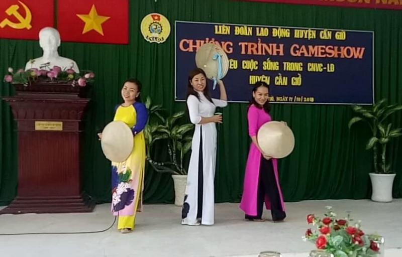 Hoạt động tại trường mầm non Bình Khánh