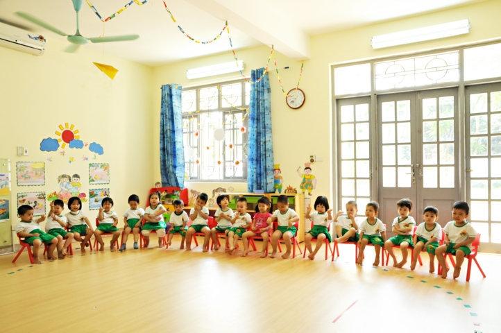 Trường Mầm non Bình Minh là một trong số trường có lợi thế nhất