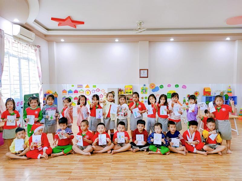 Trường Mầm non chất lượng cao Hoa Phượng Đỏ