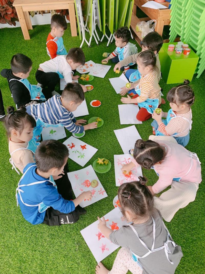 Trường mầm non chất lượng cao Oscar Montessori