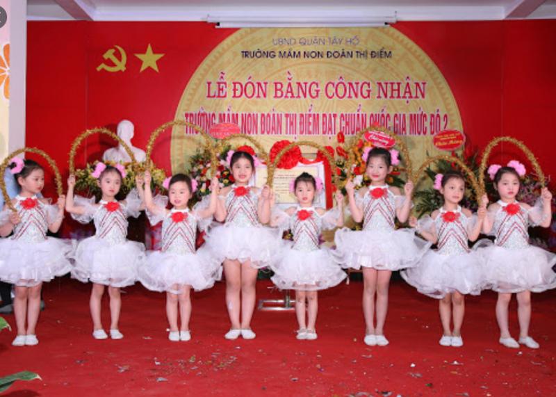 Trường mầm non Đoàn Thị Điểm