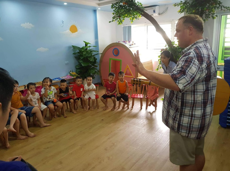 Chương trình tiếng Anh giúp trẻ phát triển khả năng giao tiếp tự nhiên và ngữ âm theo chuẩn Mỹ