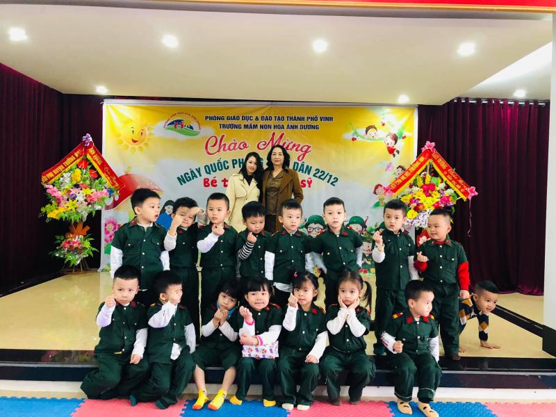 Trường mầm non Hoa Ánh Dương
