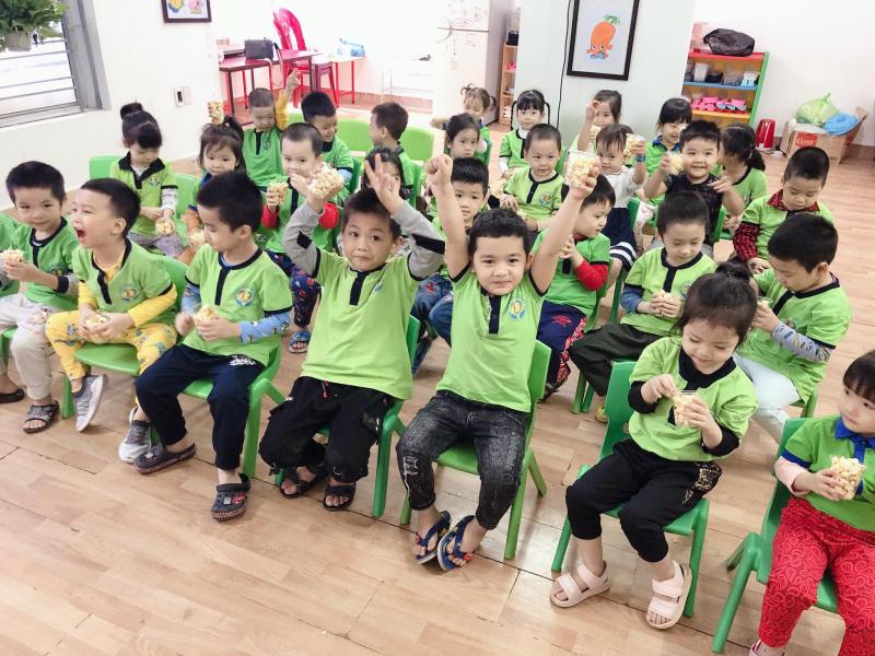 Trường mầm non Hoa Linh với trải nghiệm rạp chiếu phim thu nhỏ