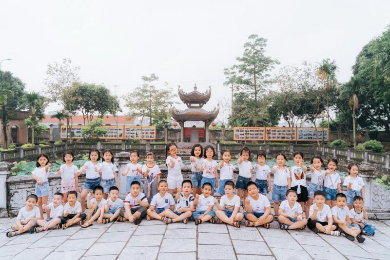 Trải nghiệm thực tế của các bạn nhỏ trường mầm non Hoa Linh