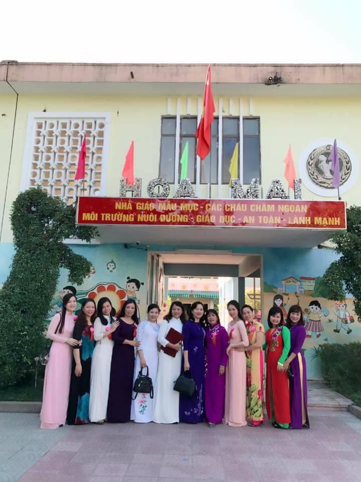 Đội ngũ giáo viên Trường Mầm non Hoa Mai