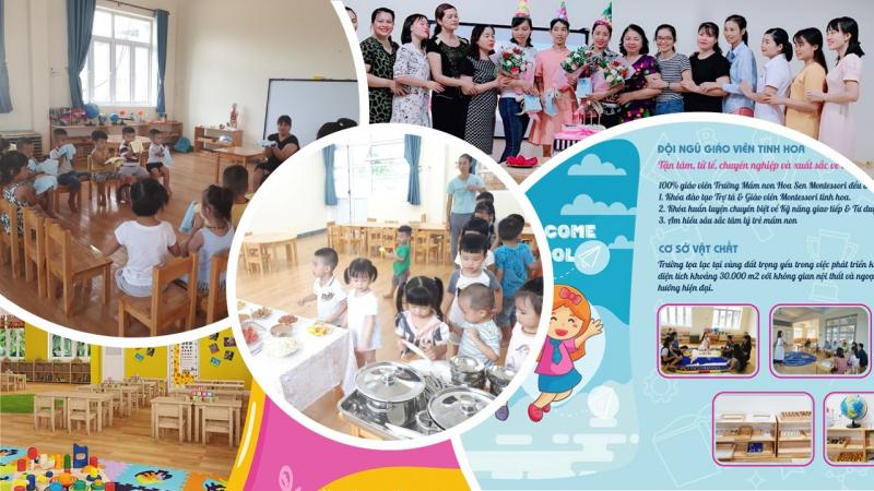 Trường mầm non Hoa Sen Montessori Móng Cái