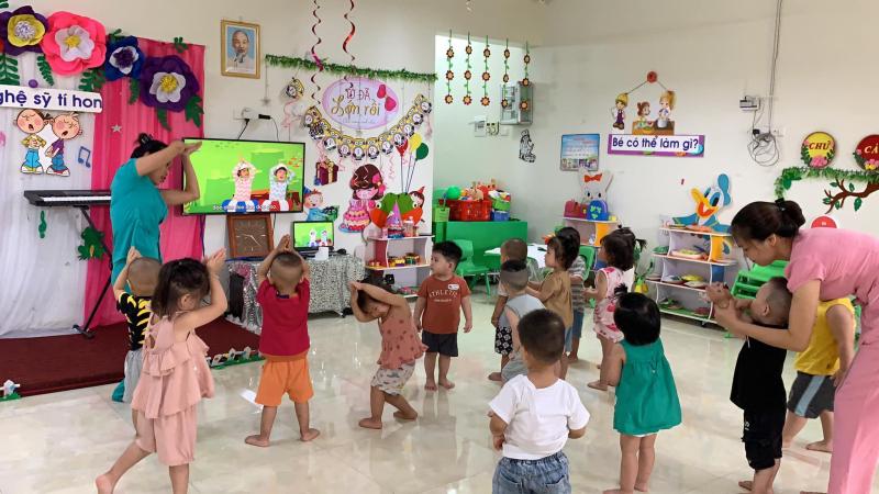 Trường mầm non Hoàng Văn Thụ. TPLS