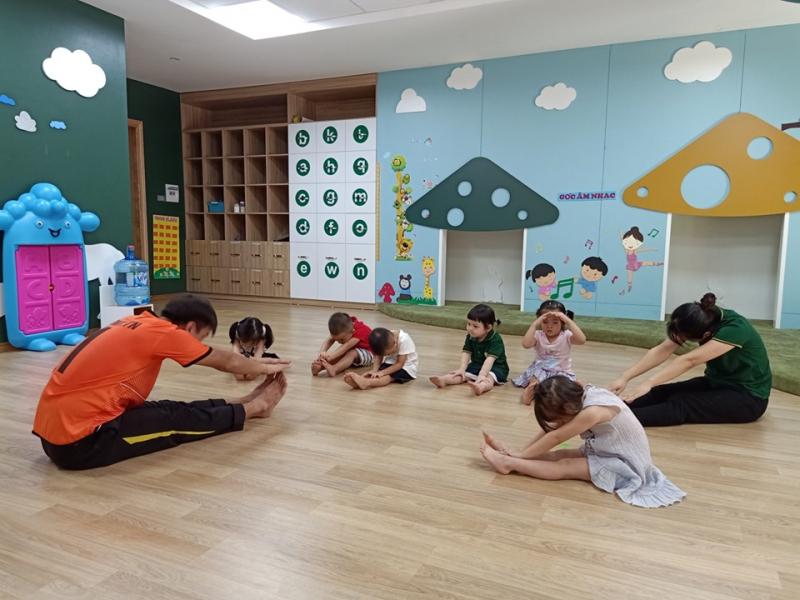 Đối với trẻ mẫu giáo được học đầy đủ các môn: Toán, Văn học, Tạo hình, Âm nhạc, Thể dục. Môn tiếng Anh là môn học được nhà trường đặc biệt quan tâm