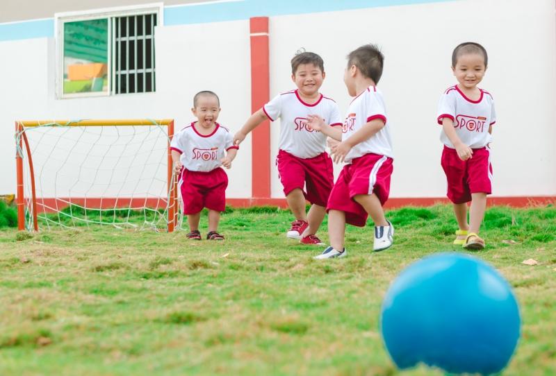 Hoạt động thể thao giúp trẻ phát triển nhiều kỹ năng