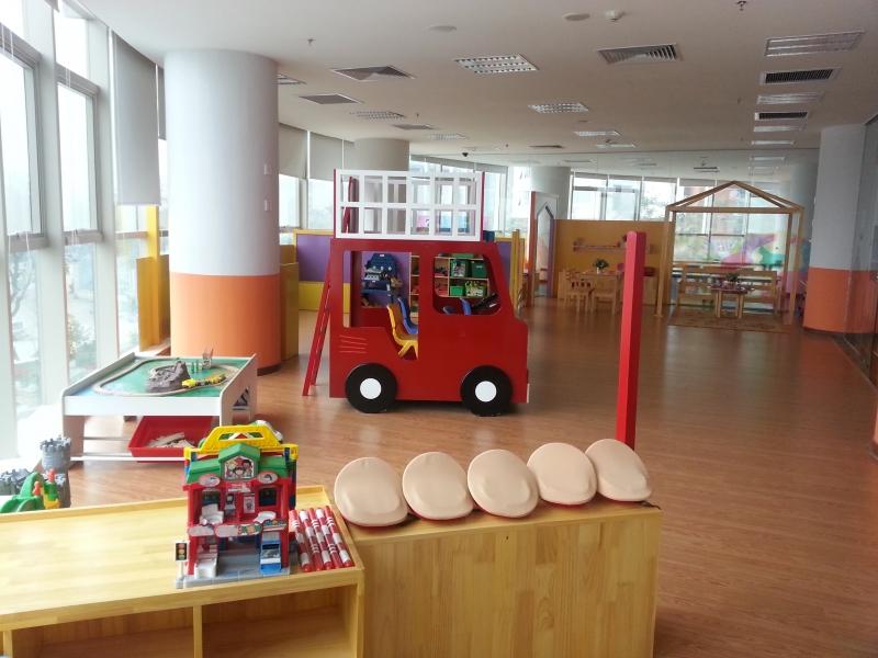 Không gian ở Trường Mầm non Just Kids