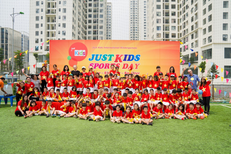 Ngày hội thể thao của hệ thống mầm non Just Kids
